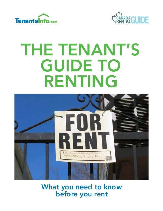 What you need to know before you rent THE Tenant's Guide to Renting Pantone Colour