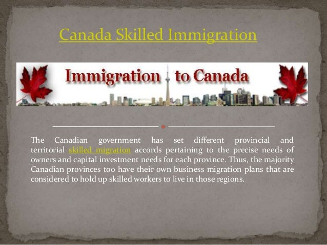 how to get permanent residency in canada through investment