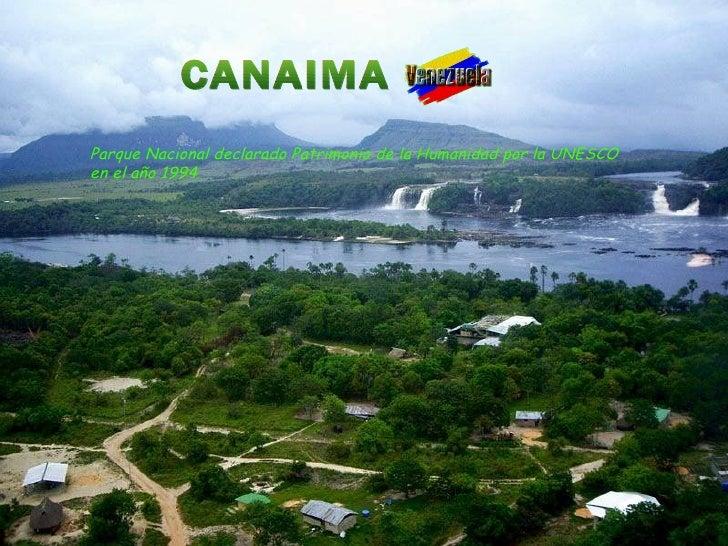 Canaima Slide 2