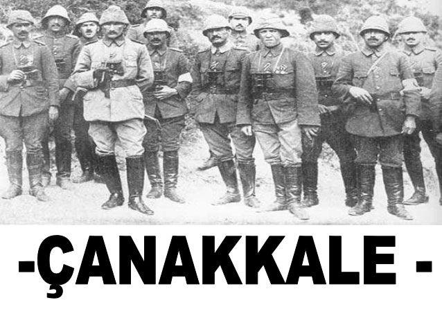 Canakkale  2015 march Slide 3