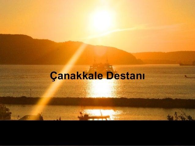 Çanakkale Destanı