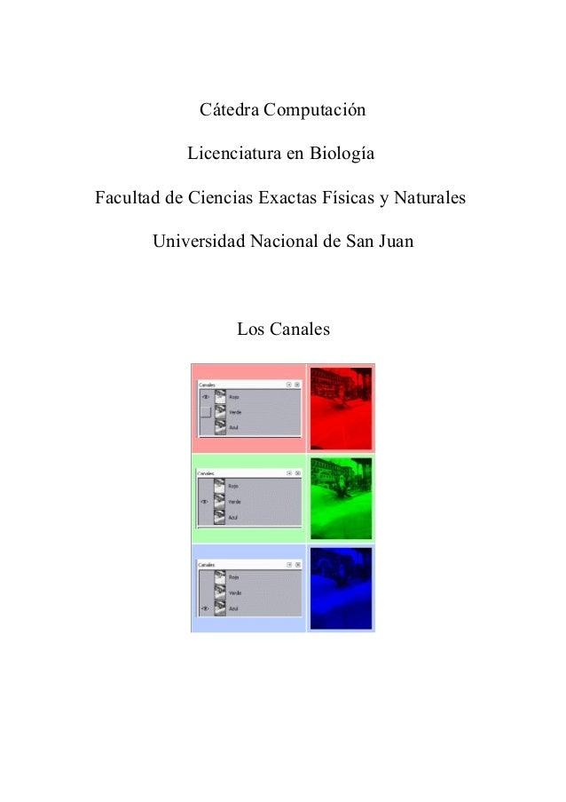 Cátedra Computación Licenciatura en Biología Facultad de Ciencias Exactas Físicas y Naturales Universidad Nacional de San ...