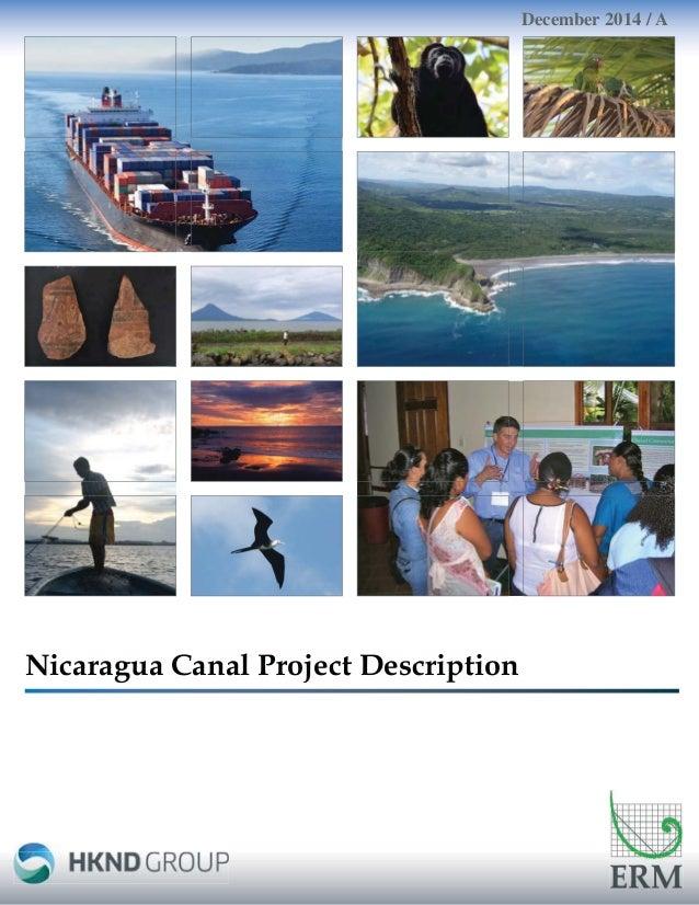 Nicaragua Canal Project Description December 2014 / A