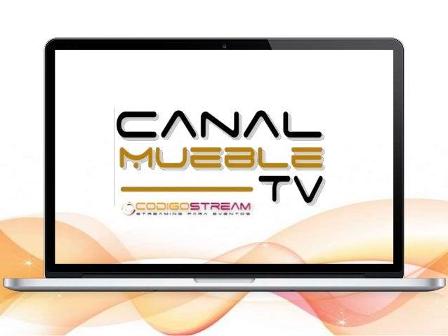 Lanzamiento del Canal Online en la feria del mueble de Barcelona.