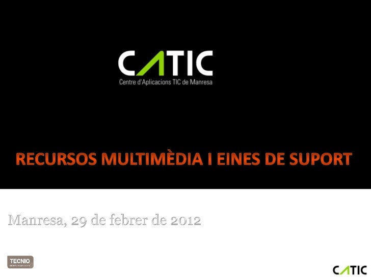 Agenda• Estratègia de comunicació visual  ▫   Video on-line: Youtube, Vimeo  ▫   Streaming  ▫   Imatges: Flickr, Picassa,....