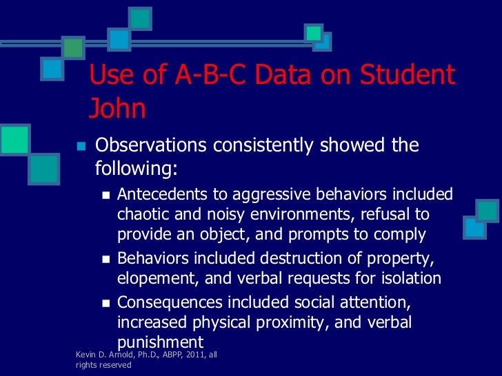 Functional Behavior Assessment and Functional Analysis