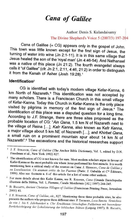 Author: Denis S. KulandaisamyThe Divine Shepherd's Voice 5 (2007/3) 197-204