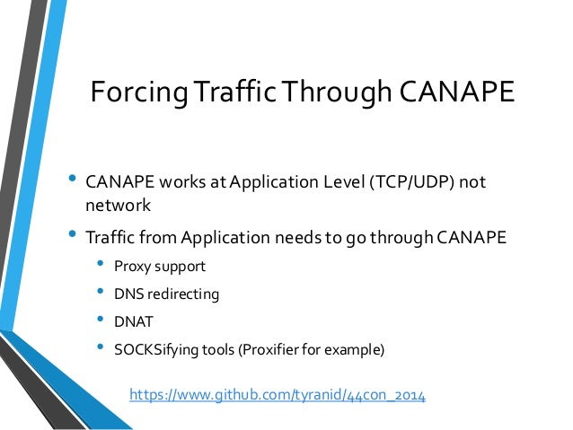 44CON 2014 - Binary Protocol Analysis with CANAPE, James Forshaw