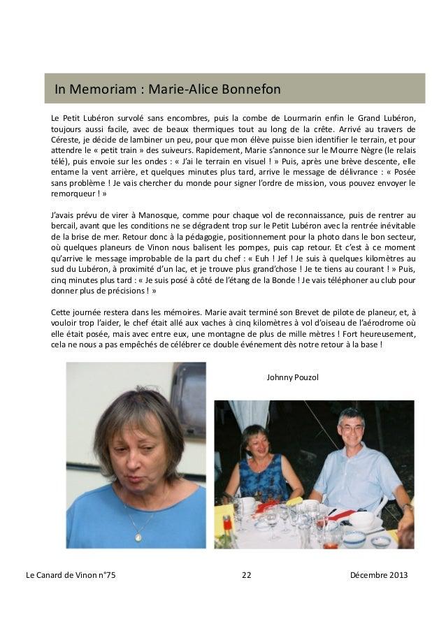 In Memoriam : Marie-Alice Bonnefon Le Petit Lubéron survolé sans encombres, puis la combe de Lourmarin enfin le Grand Lubé...
