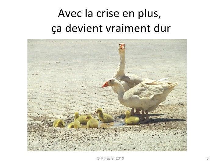 Avec la crise en plus,  ça devient vraiment dur © R Favier 2010