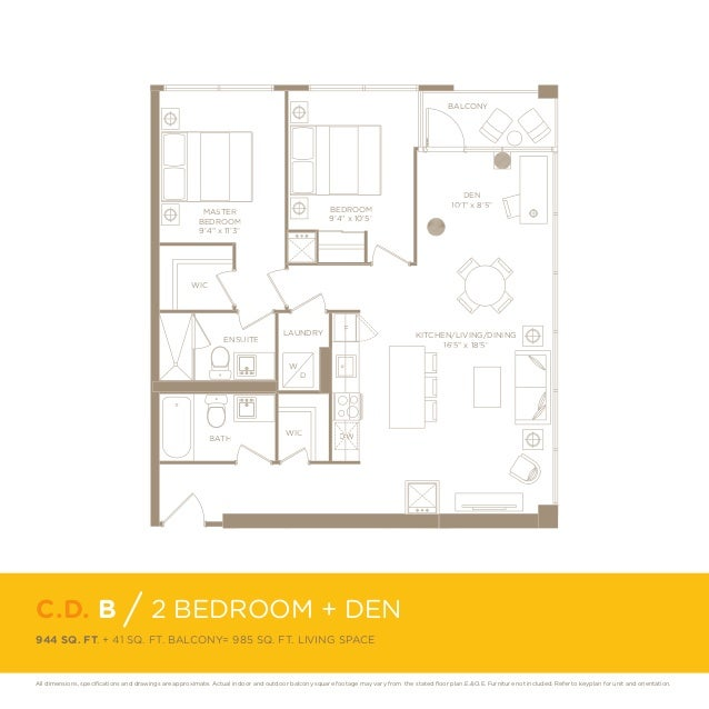 Canary District Floorplans And Layouts