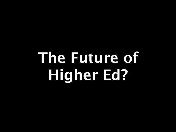 The Future of Higher Ed? A Canary in the Coal Mine of Online