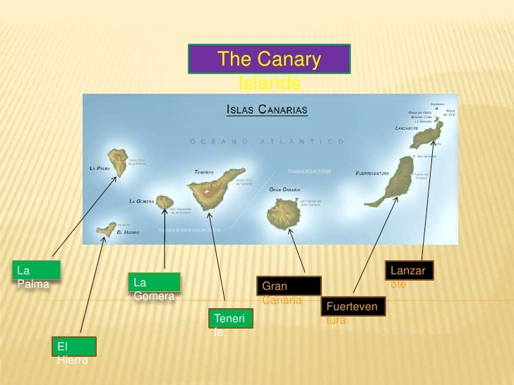The Canary Islands<br />
