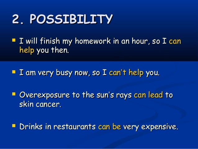 Example Sentences Including 'homework'