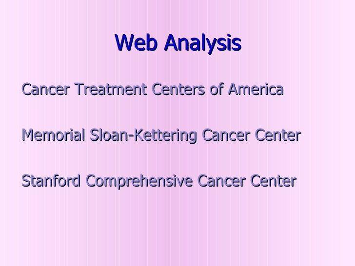 an analysis of cancer in americans