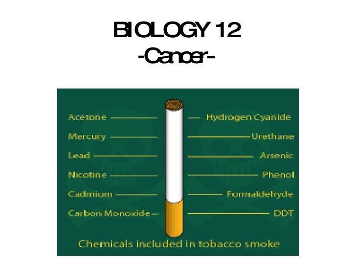 BIOLOGY 12 - Cancer-