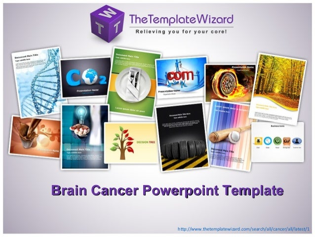 Brain Cancer Powerpoint TemplateBrain Cancer Powerpoint Template http://www.thetemplatewizard.com/search/all/cancer/all/la...