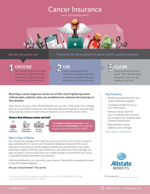 Allstate Employee Benefits >> Cancer Insurance From Allstate Benefits
