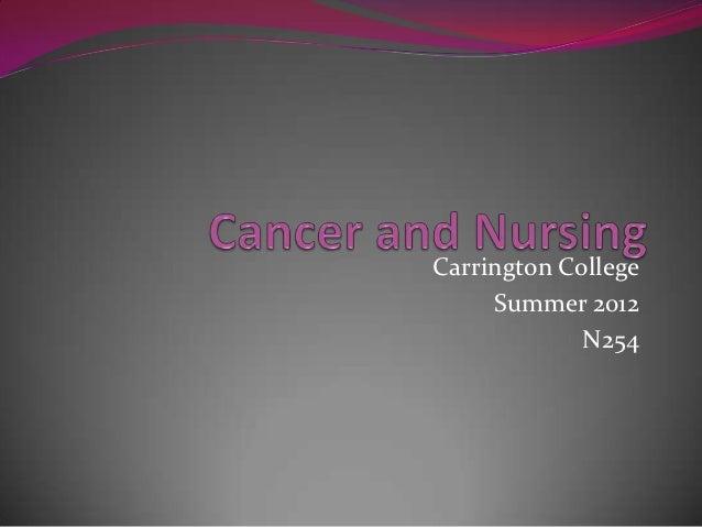 Carrington College     Summer 2012             N254