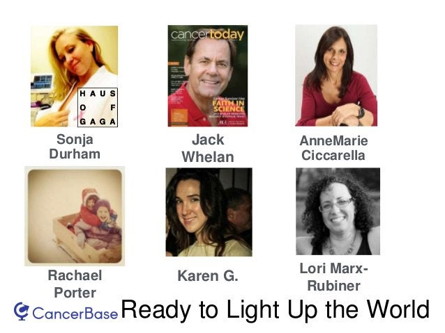 Ready to Light Up the World Sonja Durham Jack Whelan AnneMarie Ciccarella Rachael Porter Karen G. Lori Marx- Rubiner