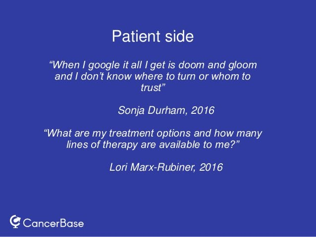 """""""When I google it all I get is doom and gloom and I don't know where to turn or whom to trust"""" Sonja Durham, 2016 """"What ar..."""