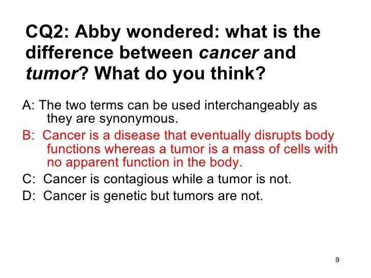 case study on cancer