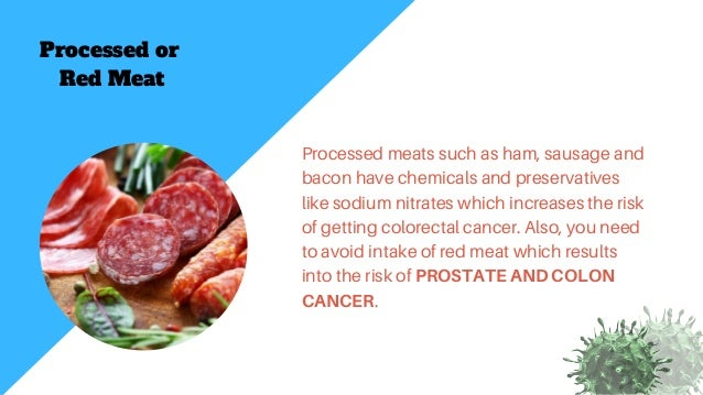 Top 10 Cancer Causing Foods