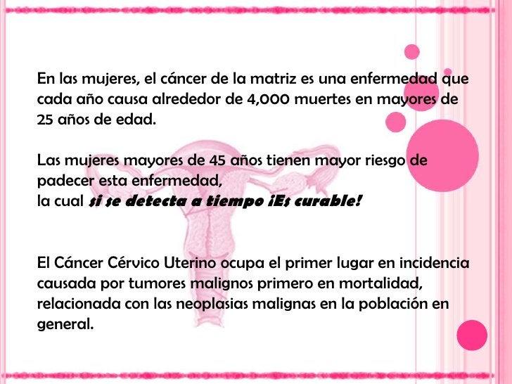 El adenocarcinoma en el epitelio glandular (5%).</li></li></ul><li>El CaCu, un problema<br />de salud pública<br />Cada a...