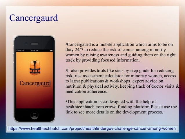 Cancergaurd                             Cancergaurd is a mobile application which aims to be on              duty 24/7 to...