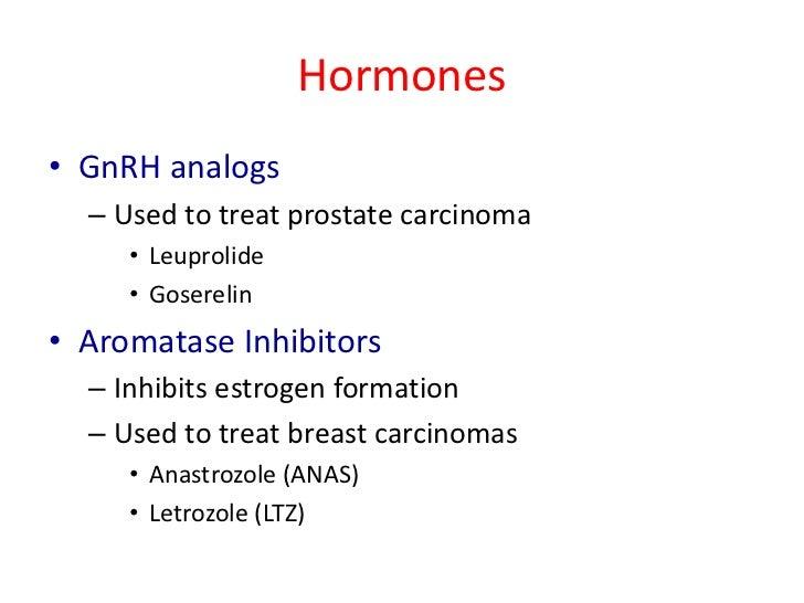 Is Anastrozole A Chemotherapy Drug