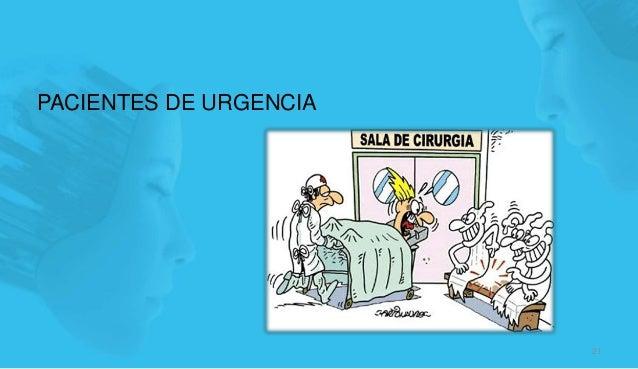 PACIENTES DE URGENCIA 21