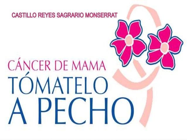  ANTECEDENTES   DEFINICION   SINTOMAS   PREVENCION   TIPOS DE CANCER DE MAMA   DIAGNOSTICO   FACTORES DE RIESGO NO ...