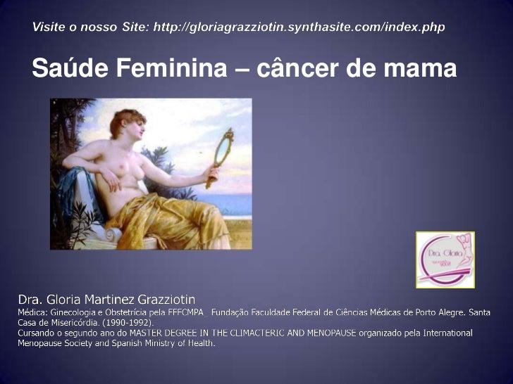 Saúde Feminina – câncer de mama