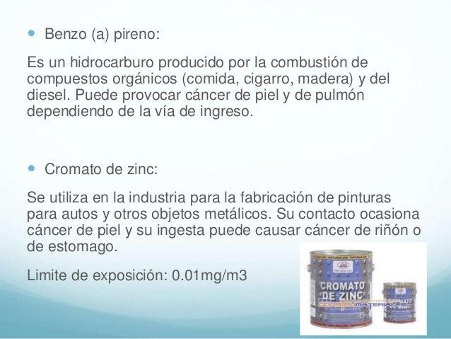  Cloruro de vinilo. Se utiliza para la fabricación del cloruro de polivinilo (PVC). Ocasiona cáncer de hígado, de pulmón ...