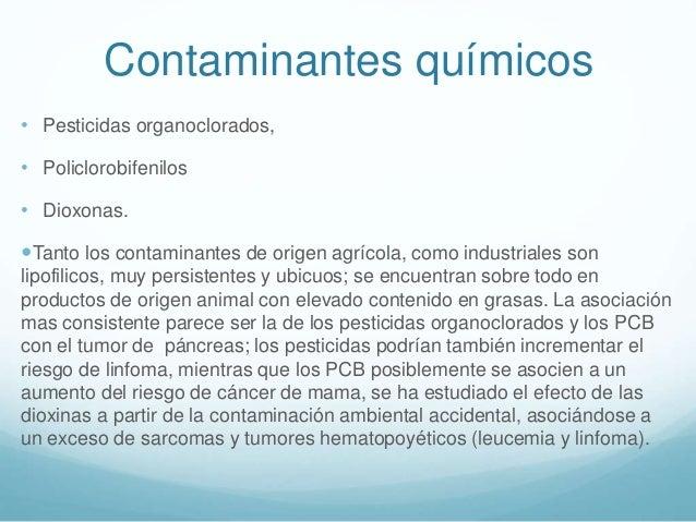 Cáncer de origen ambiental.