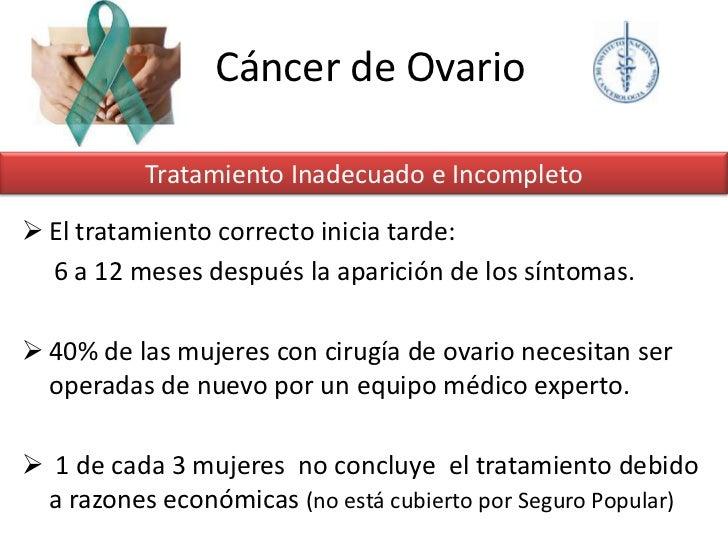 Cancer De Ovario 22 Sep 12