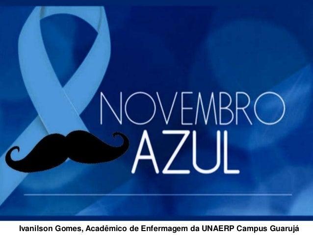 Ivanilson Gomes, Acadêmico de Enfermagem da UNAERP Campus Guarujá