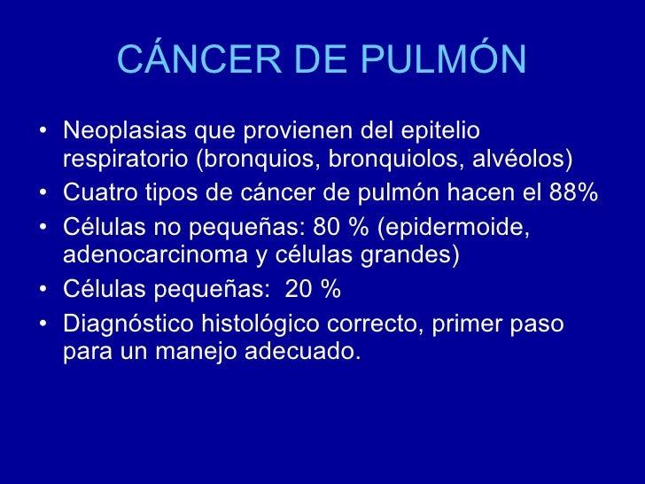Cancer de pulmon Slide 2