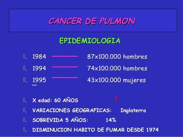 Cancer de pulmon Slide 3