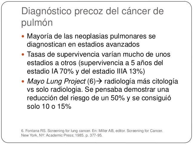 Confirmación histológica 7. Rivera MP, Mehta AC. Initial diagnosis of lung cancer: ACCP evidencebased clinical practice gu...