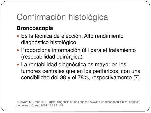 Otros  Punción-aspiración con aguja fina (PAAF)  Biopsia de lesiones metastásicas extratorácicas  Toracocentesis  Biop...