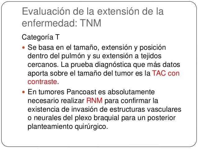 Evaluación del estado funcional  La espirometría posbroncodilatadora y el estudio de difusión pulmonar (DLCO) son las téc...