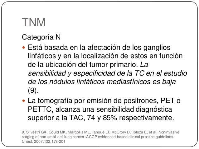Factores Pronósticos  Estadio de la enfermedad  Estado del paciente o performance status  Pérdida de peso: >5% en los 3...