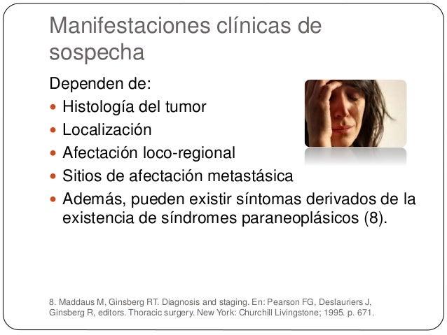 Histología del tumor Carcinoma epidermoide (20%)  Es el más relacionado con el tabaco (el 90% se desarrolla en pacientes ...