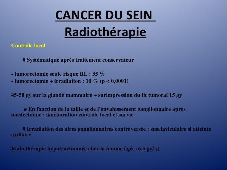 Cancer du sein 2010, mg