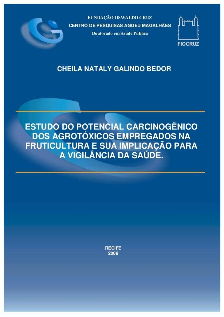 FUNDAÇÃO OSWALDO CRUZ        CENTRO DE PESQUISAS AGGEU MAGALHÃES               Doutorado em Saúde Pública      CHEILA NATA...