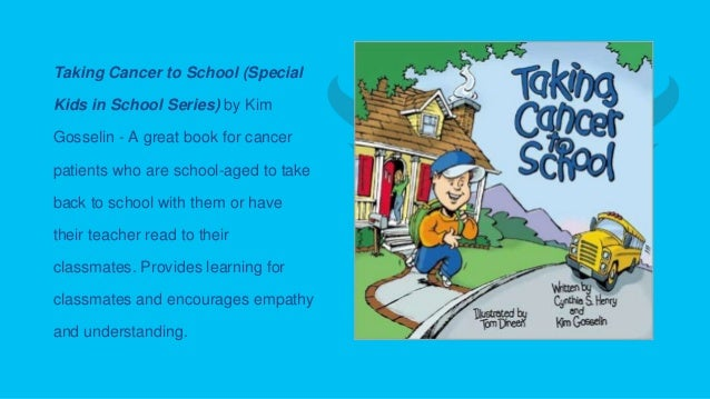 books for children and families living with cancer