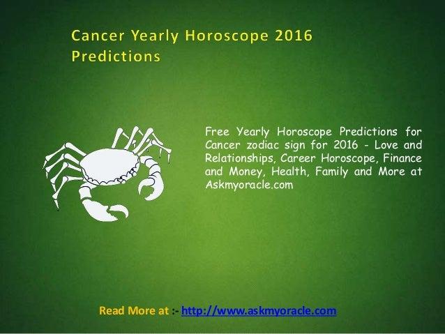 cancer career horoscope today
