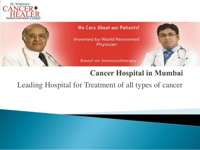 Leading Hospital for Treatment of all types of cancer