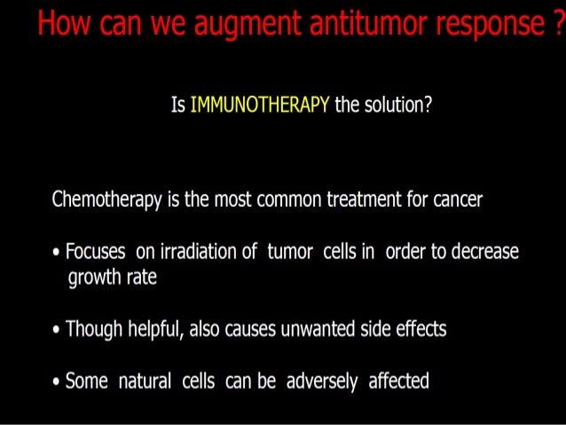 IMMUNOTHERAPY WITH GENE TRANSFECTED TUMOR CELLSS.No. Cytokine Tumorrejectionin animalsInflammatoryinfiltrateImmunityagains...